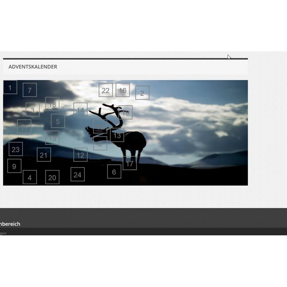 module - Personnalisation de Page - Advent Calendar / Christmas Calendar / Santa Calendar - 9