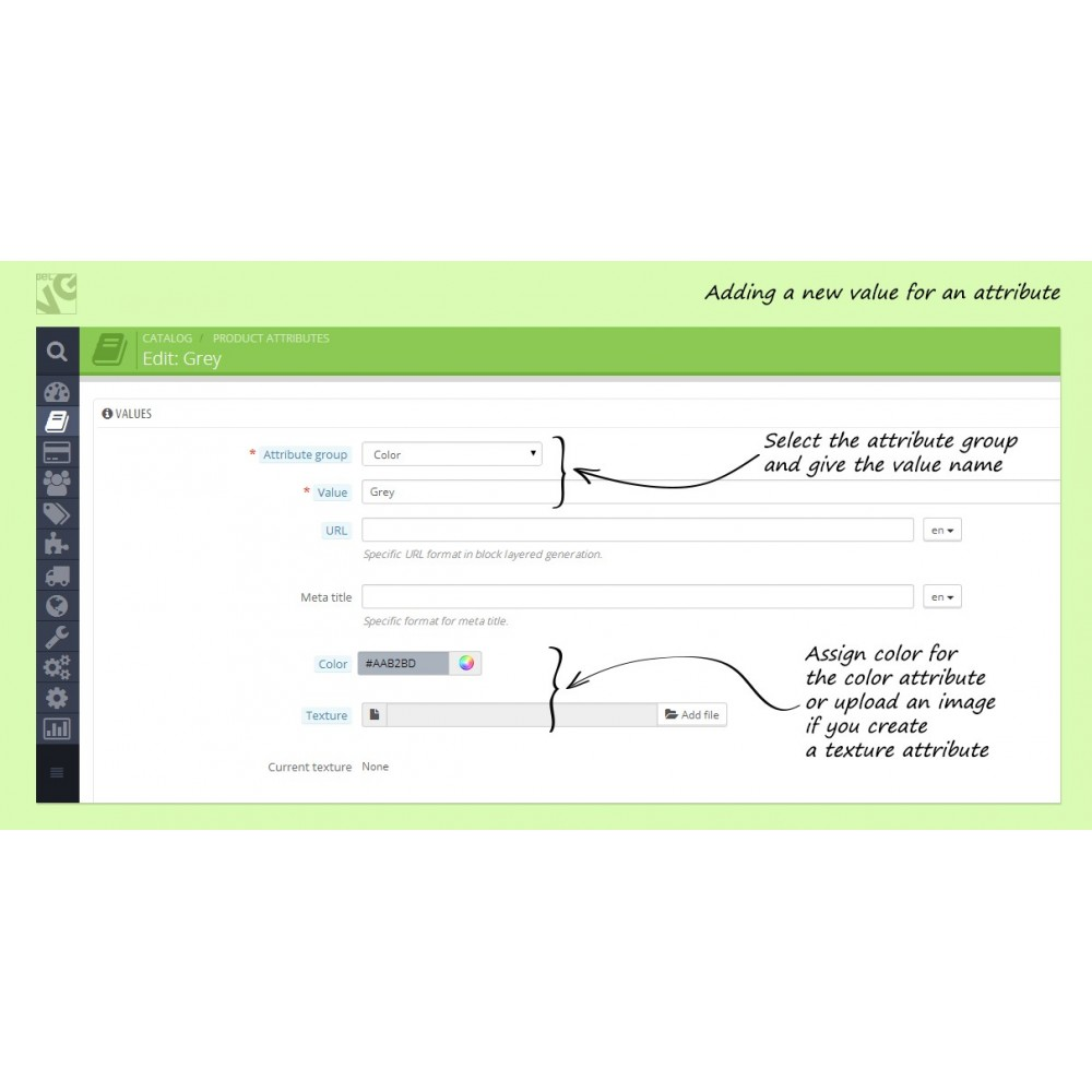 module - Combinations & Product Customization - Colorizer - 4