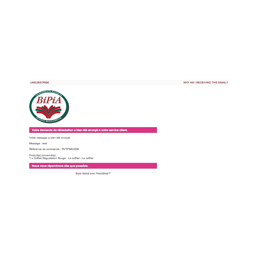 module - Législation (Loi Hamon) - Hamon gestion complète : rétractation + CGV en PJ - 3