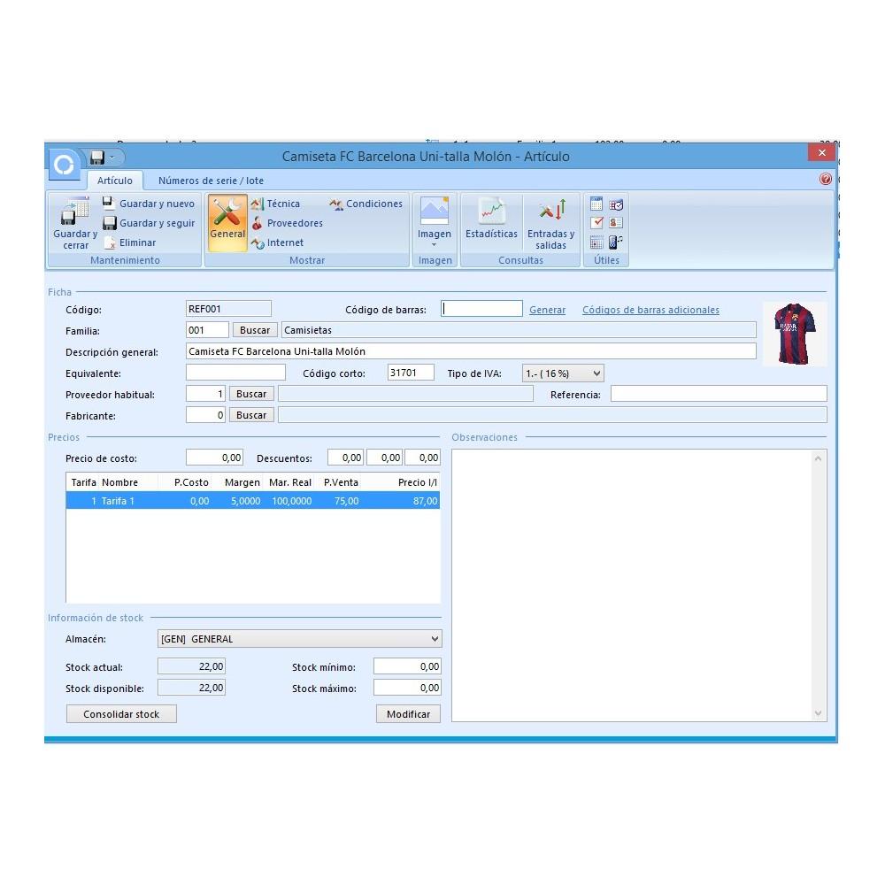 module - Integración con CRM, ERP... - Conector FactuSOL PROFESIONAL - 13