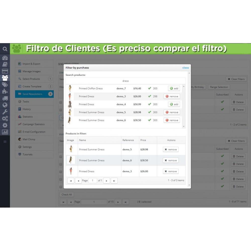 module - Newsletter y SMS - Newsletter Pro - 23