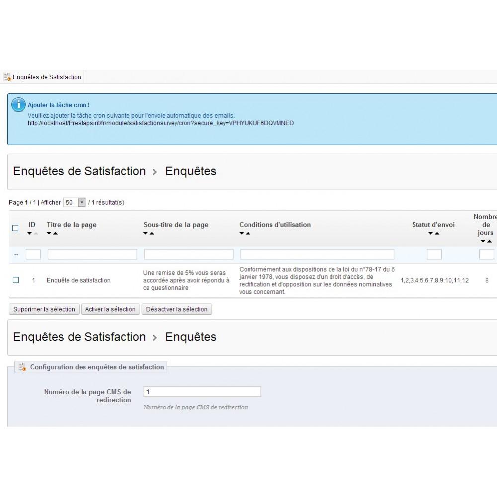 module - Formulaires de Contact & Sondages - Enquête de Satisfaction - 21