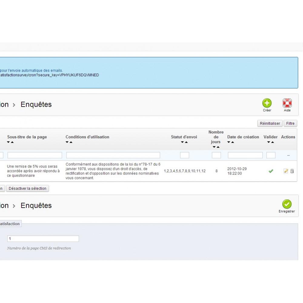 module - Formulaires de Contact & Sondages - Enquête de Satisfaction - 22