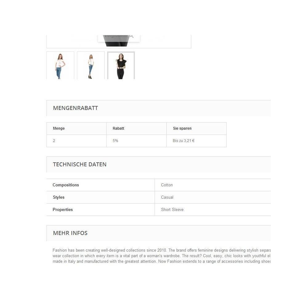 module - Zusatzinformationen & Produkt-Tabs - Tabs2Accordion - 2