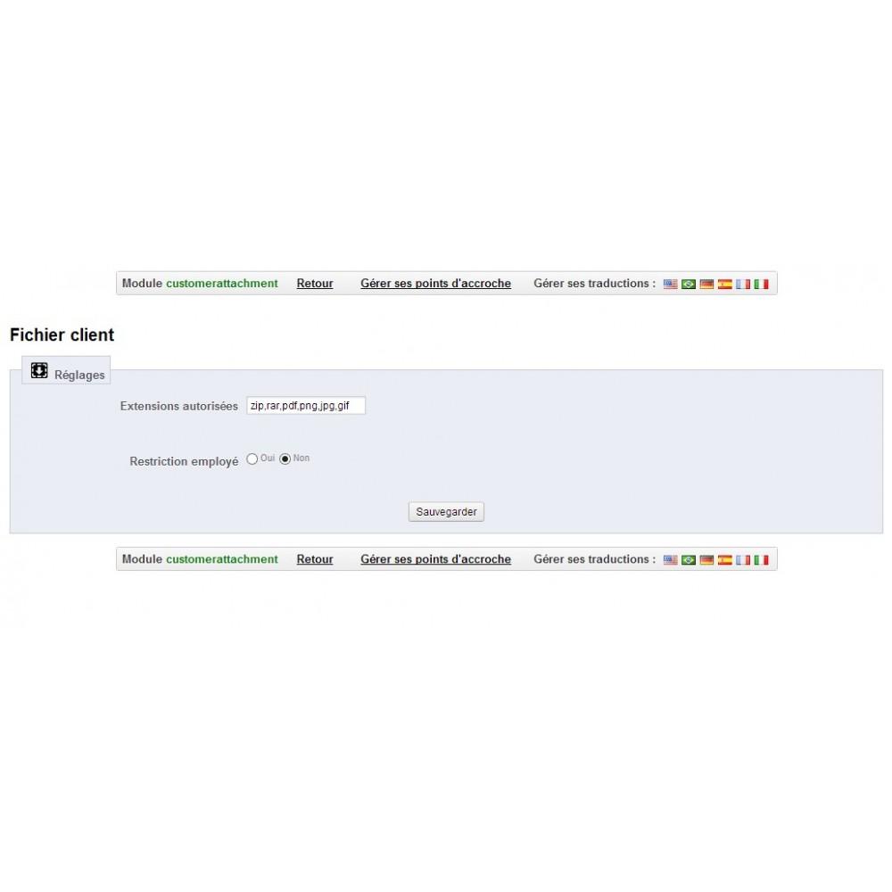 module - Service Client - Fichiers client téléchargeables - 14