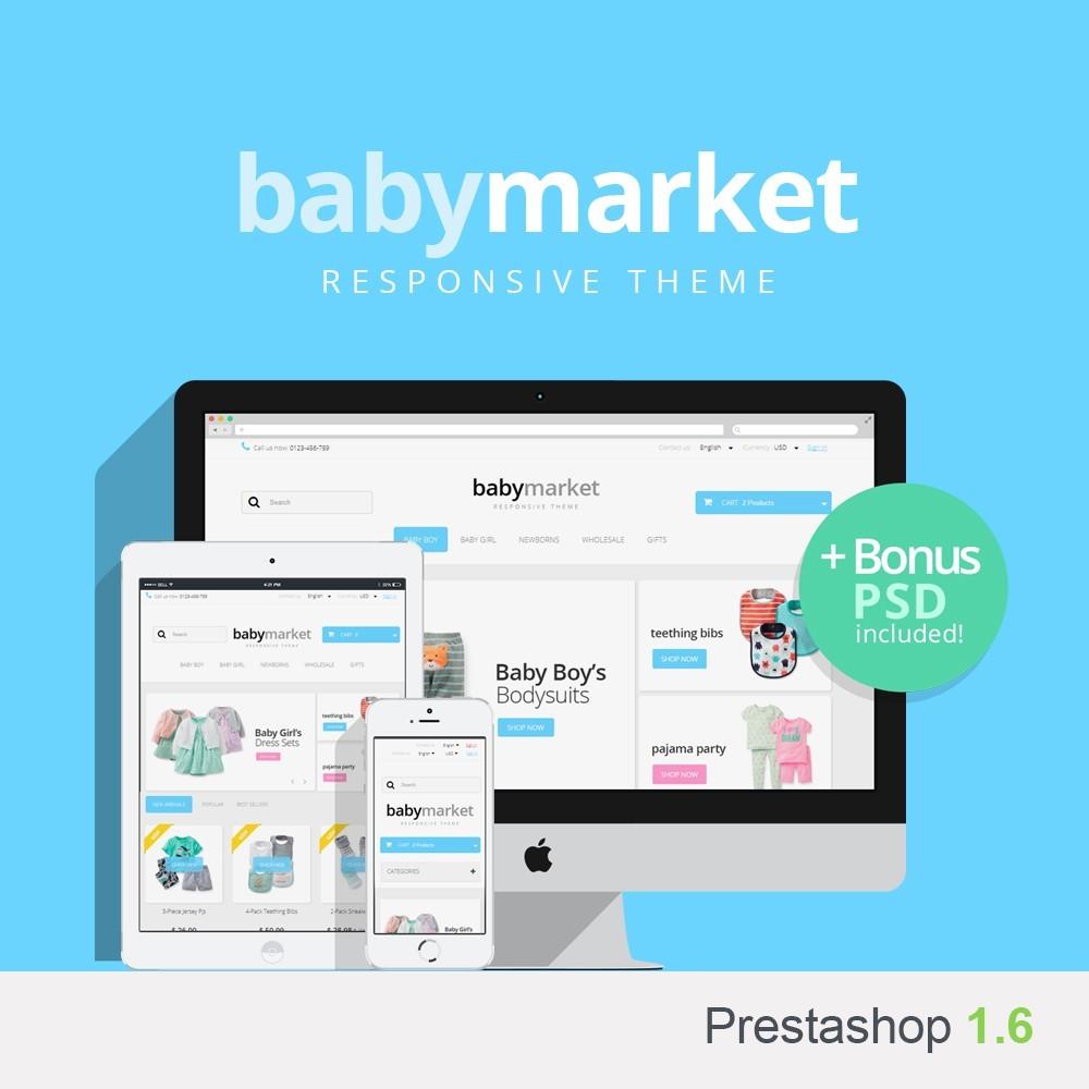 Baby Market 1.6 Responsive
