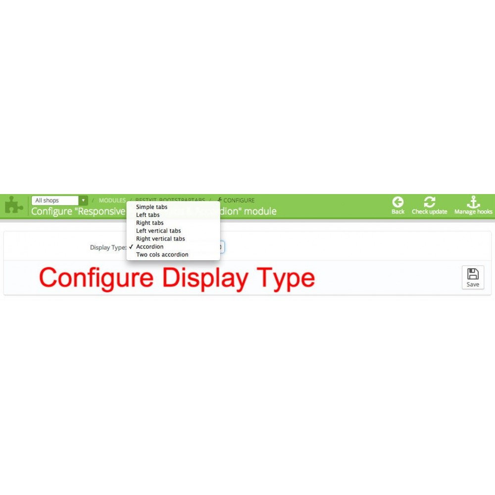 module - Information supplémentaire & Onglet produit - Responsive Product Tabs & Accordion - 4
