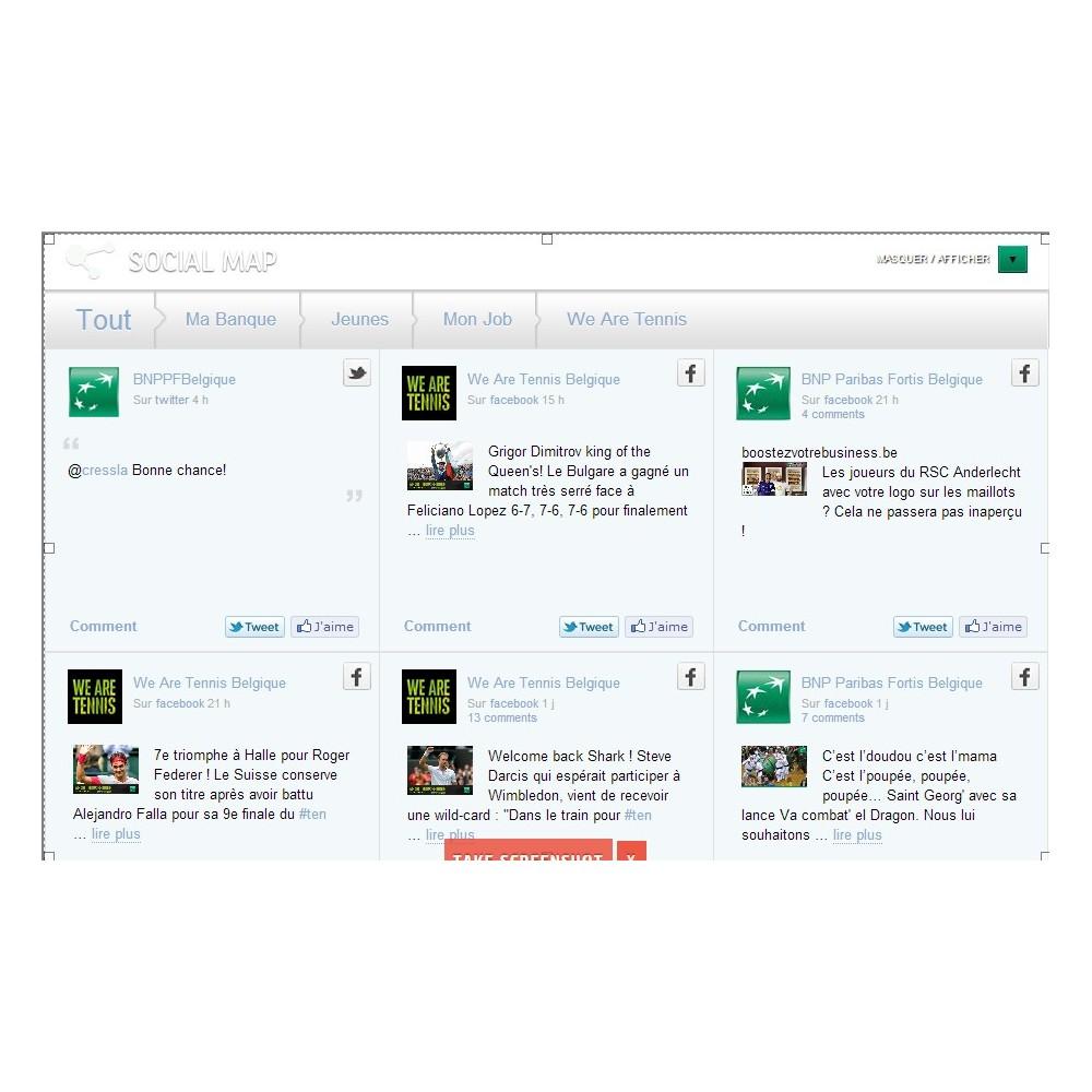 module - Widgets réseaux sociaux - Dialogfeed, affichez un social wall sur votre site - 7
