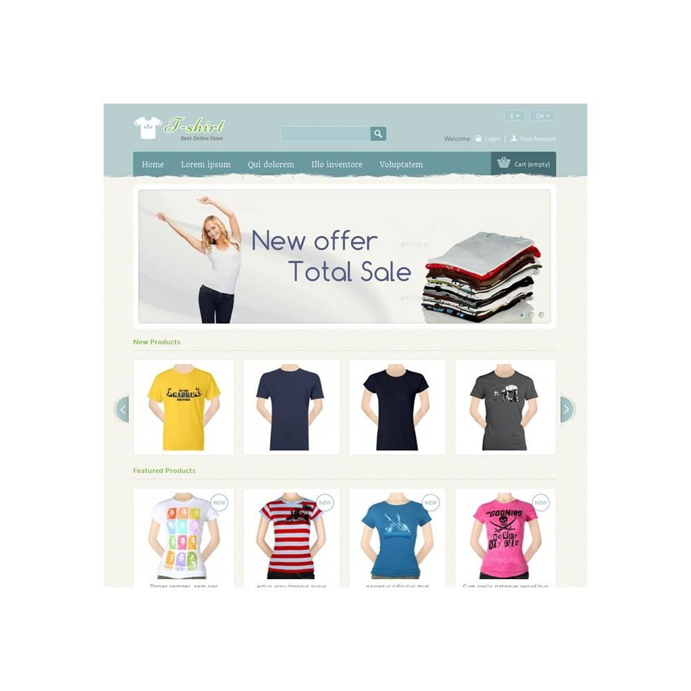 T-shirt Prestashop Theme - PRS040081
