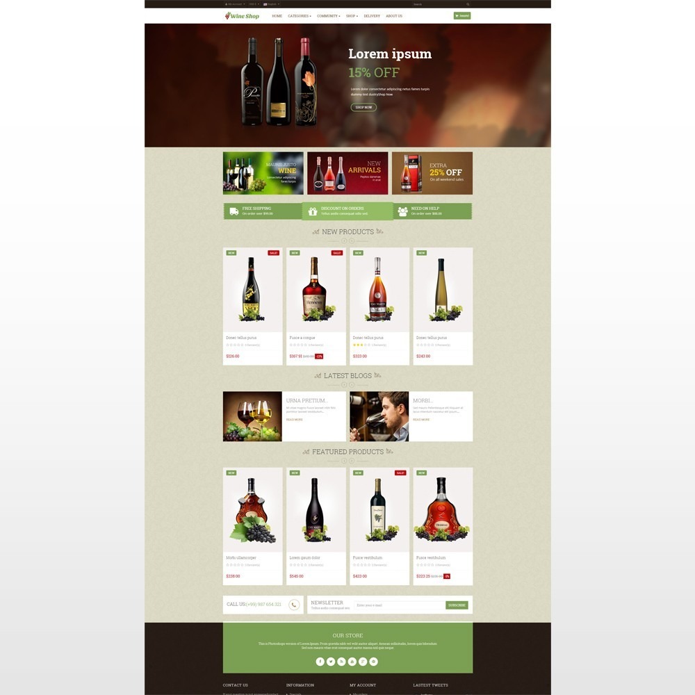 Leo Wine Store