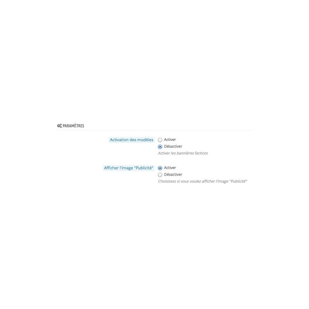 module - Référencement payant (SEA SEM) & Affiliation - Afficheur d'espaces pubs / AdsWhereYouWant - 6