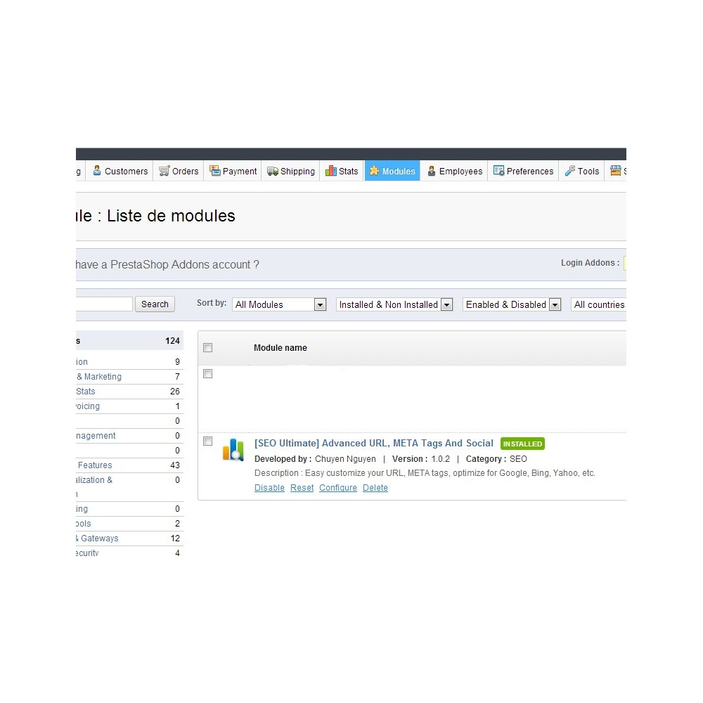module - SEO (Suchmaschinenranking) - [SEO Ultimate] Advanced URL, META Tags And Social - 10