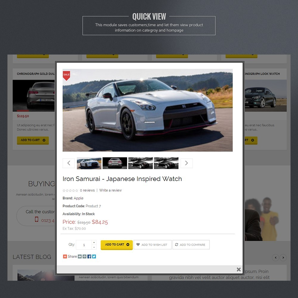 theme - Auto's & Motoren - Super Car - 4