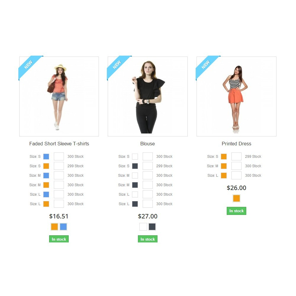 module - Combinations & Product Customization - Wholesale Product Listing - 1