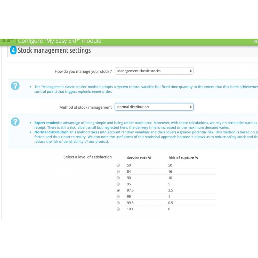 module - Соединение с внешней программой (CRM, ERP...) - My Easy ERP - 14