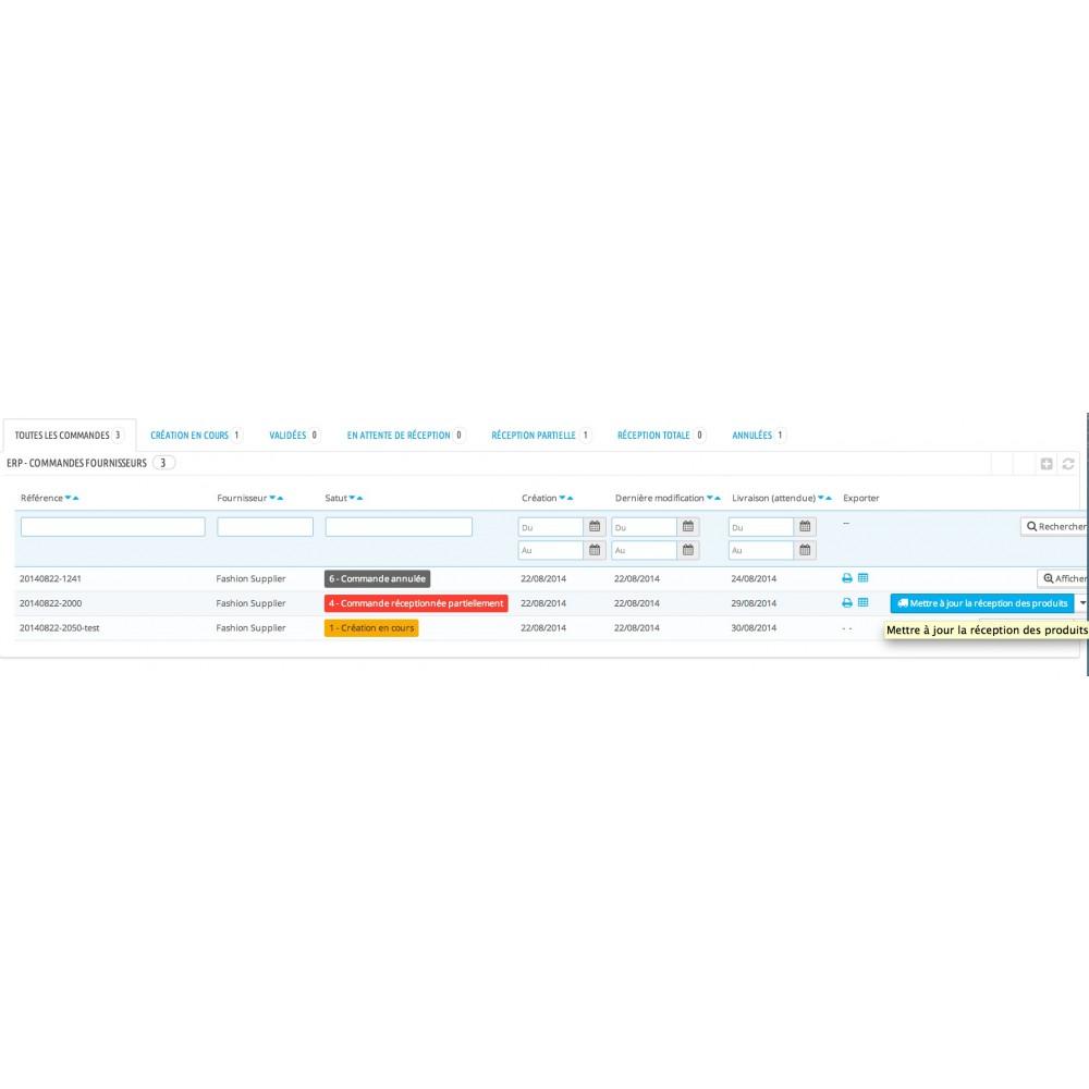 module - Connexion à un logiciel tiers (CRM, ERP...) - My Easy ERP - 8