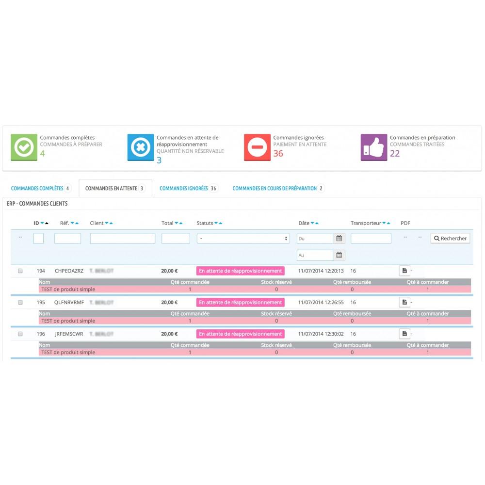 module - Connexion à un logiciel tiers (CRM, ERP...) - My Easy ERP - 10