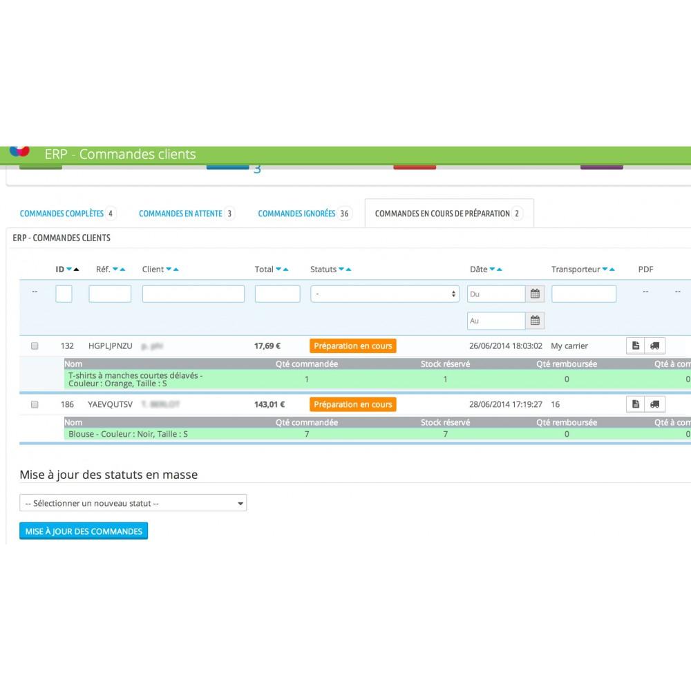 module - Connexion à un logiciel tiers (CRM, ERP...) - My Easy ERP - 12