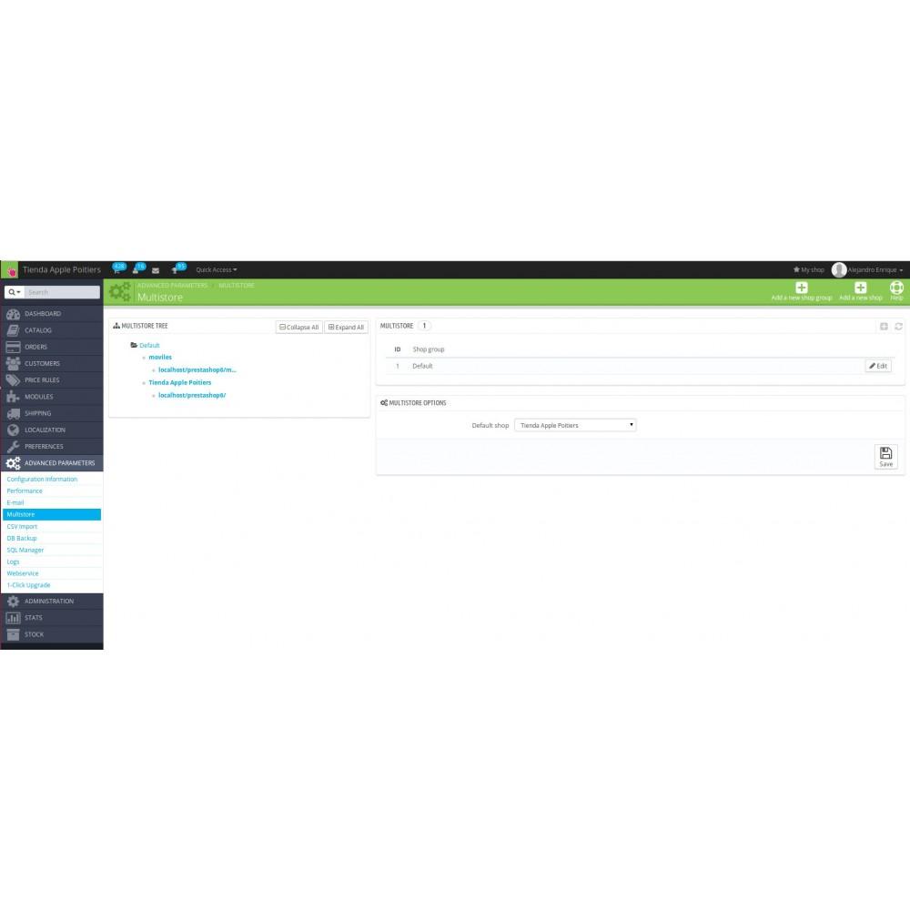 module - Contabilidad y Facturas - Números de factura diferentes por cada multi tienda - 6