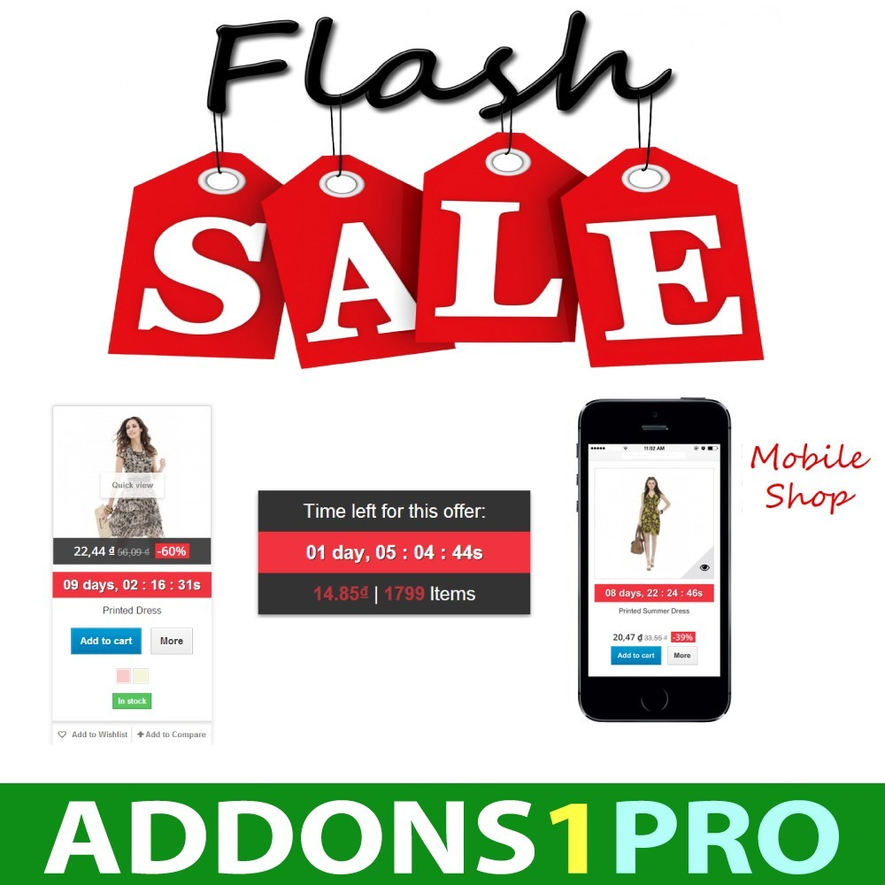 module - Vendas Privadas & Vendas Ultrarrápidas - Flash Sales Ultimate - 1