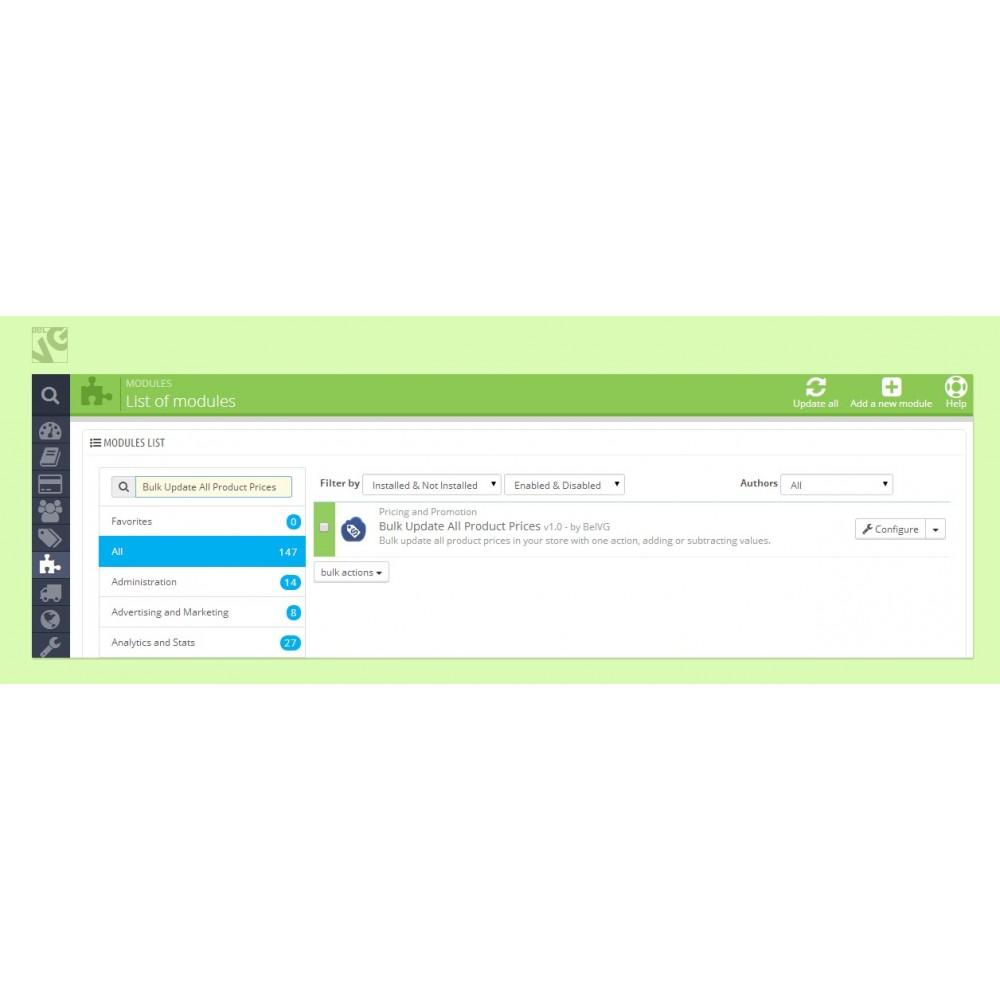 module - Szybkie & Masowe edytowanie - Bulk Price Update - 1