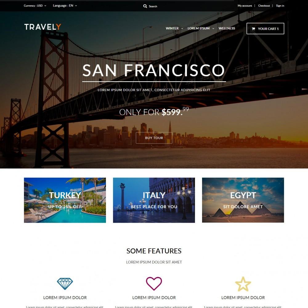 theme - Спорт и Путешествия - Travely - Туристическое Агенство - 1