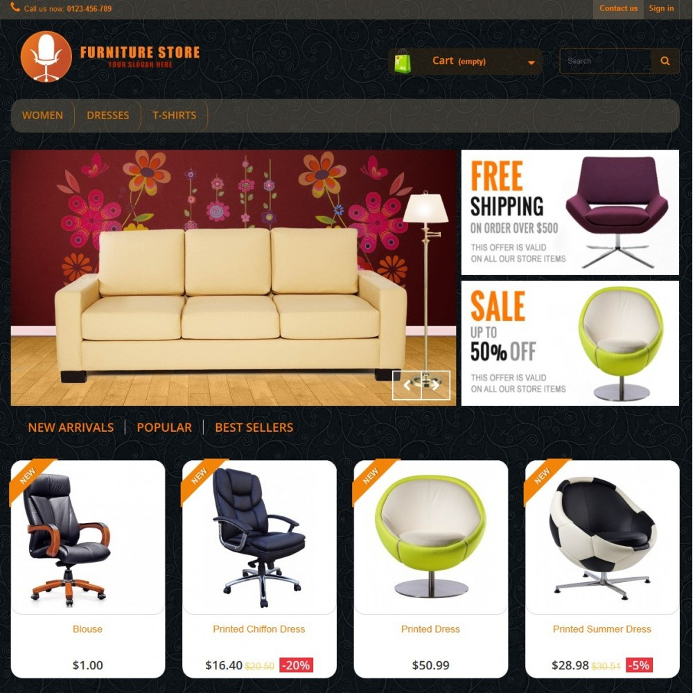 theme - Casa & Giardino - RESPONSIVE FURNITURE-STORE THEME - 2