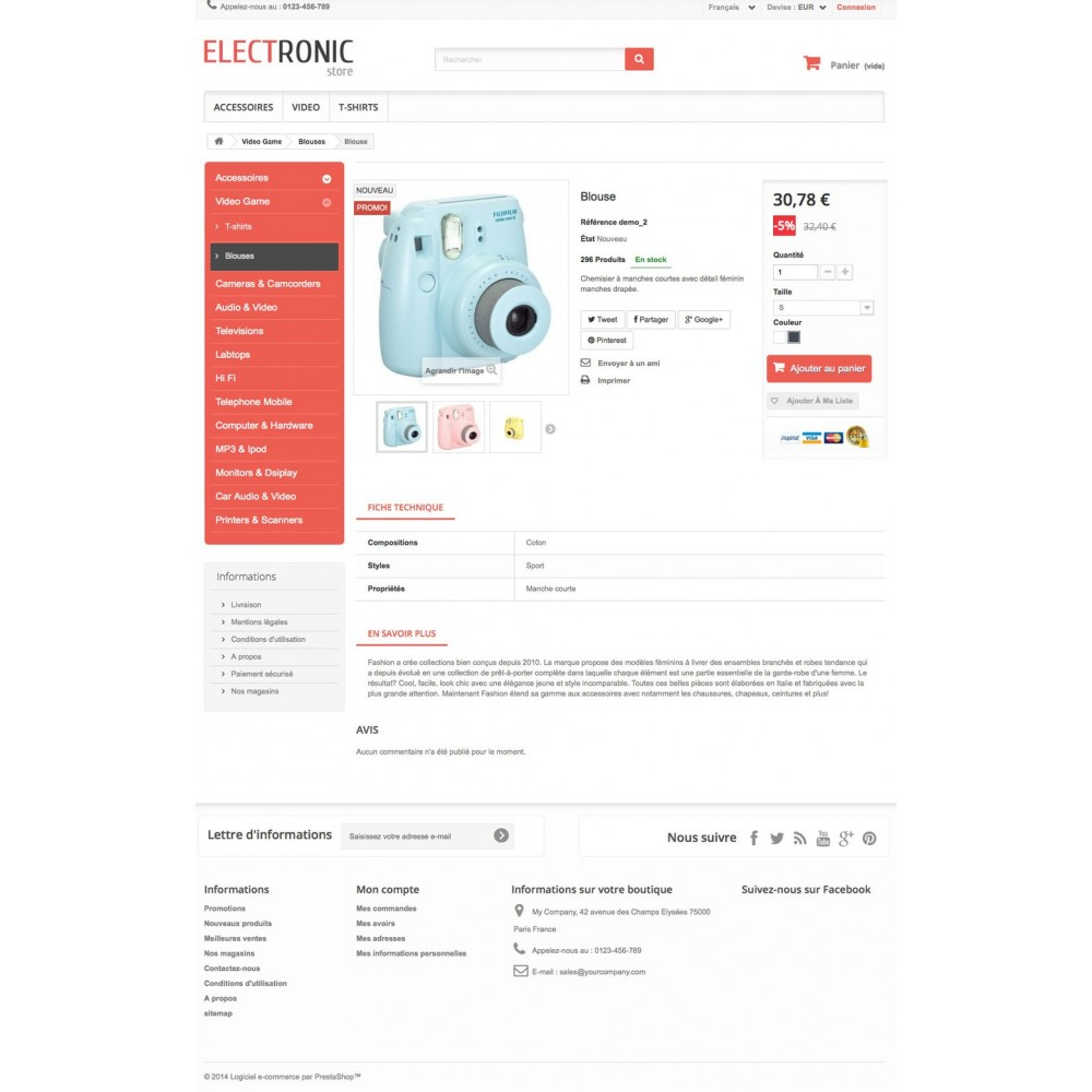 theme - Elektronica & High Tech - ELECTROSHOP - 6