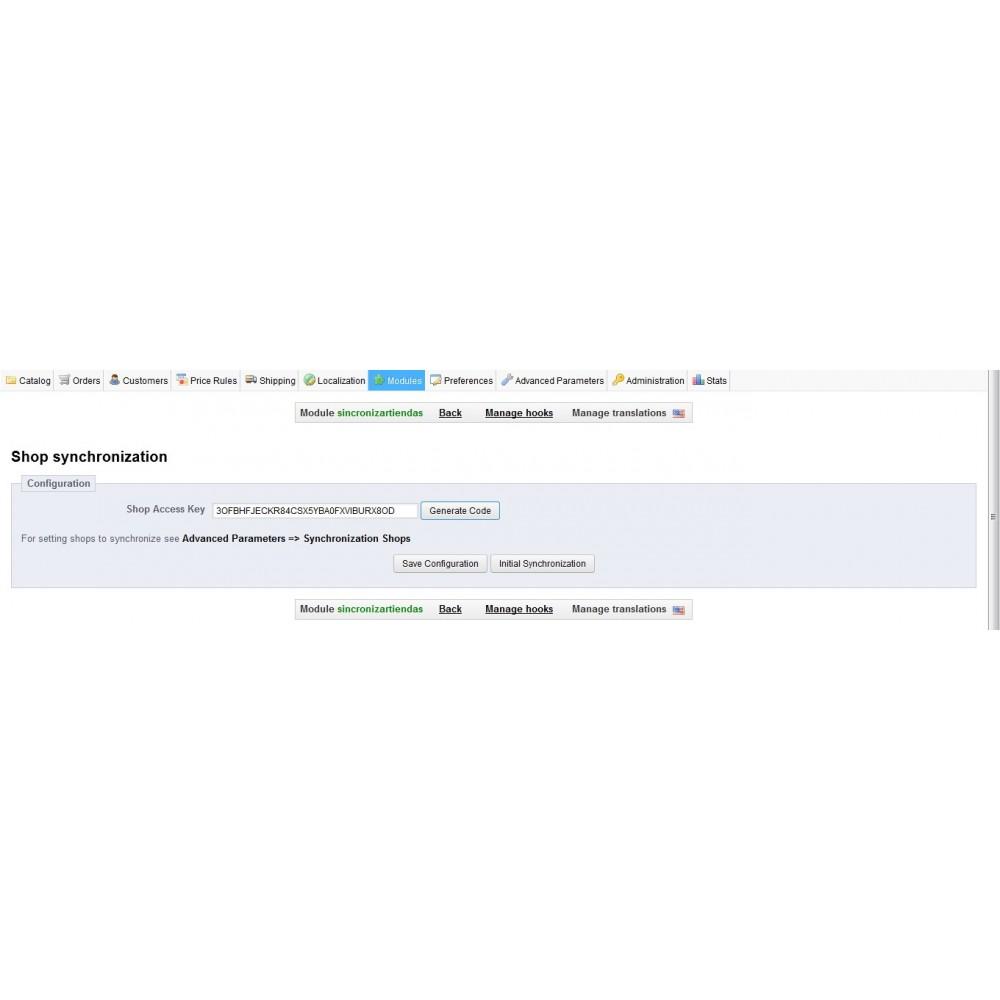 module - Gestión de Stock y de Proveedores - Sincronizador Stock Tiendas - 1