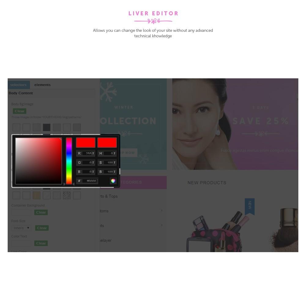 theme - Salud y Belleza - Cosmetic Shop - 5