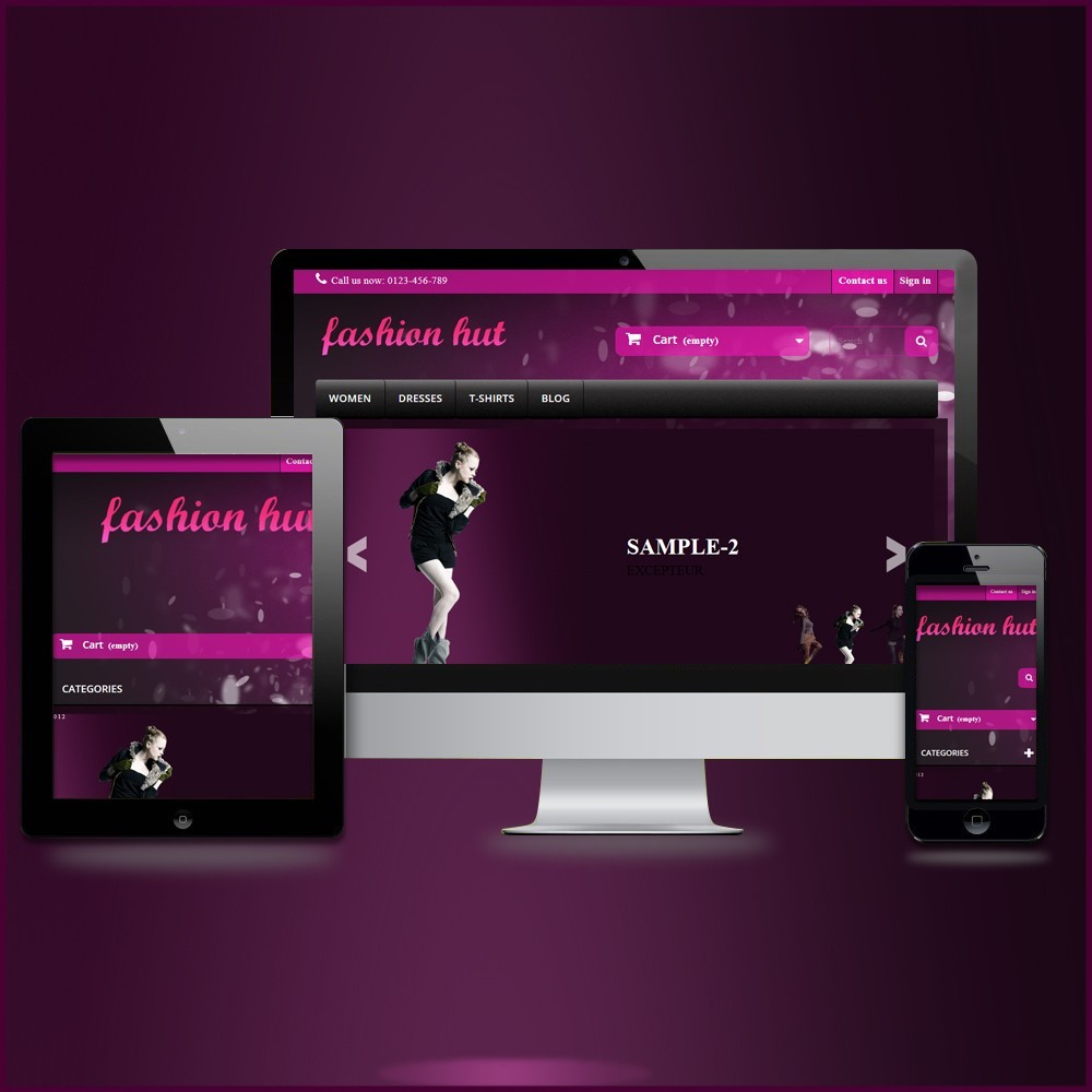 RESPONSIVE FASHION-HUT THEME