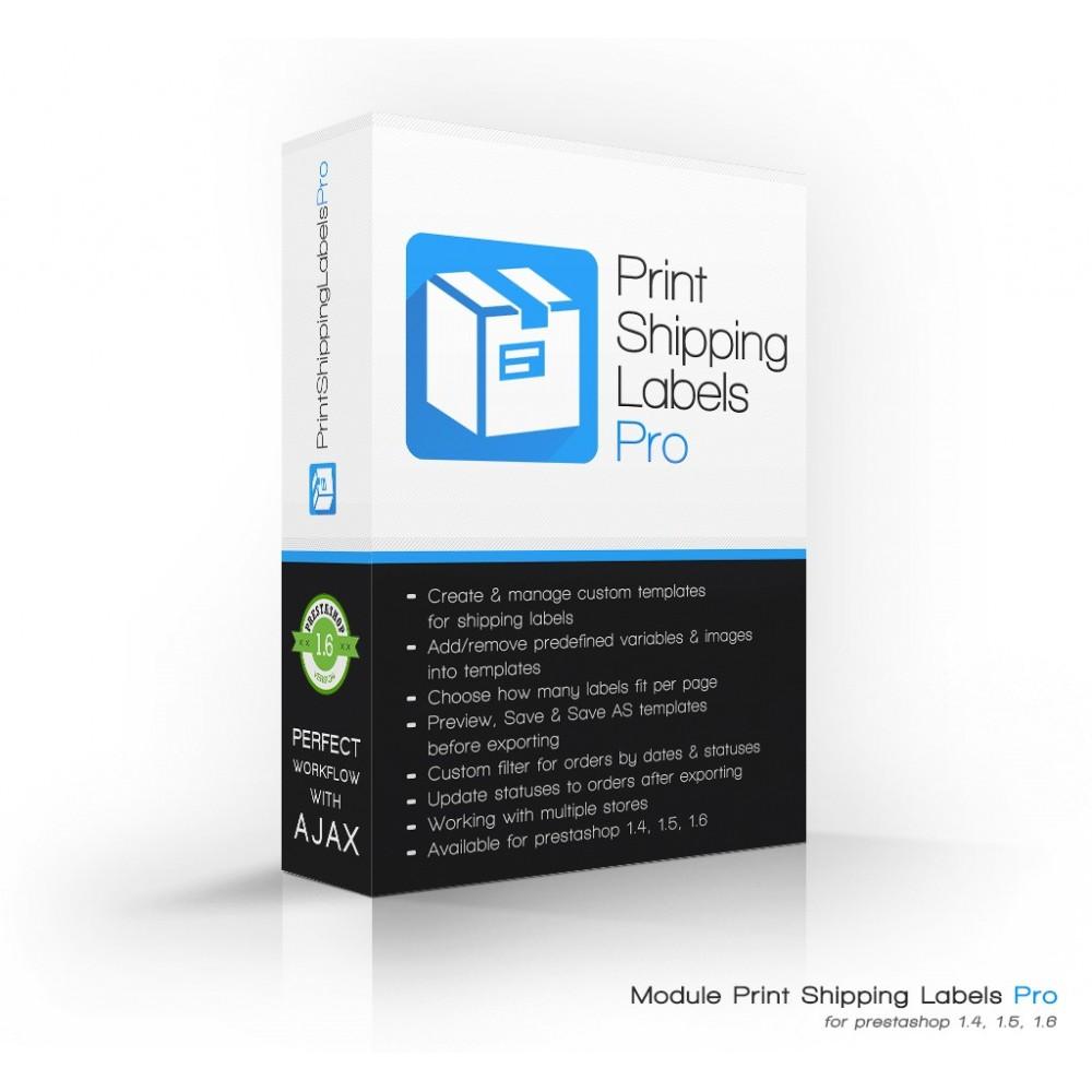 module - Preparación y Envíos - Print Shipping Labels Pro - 1
