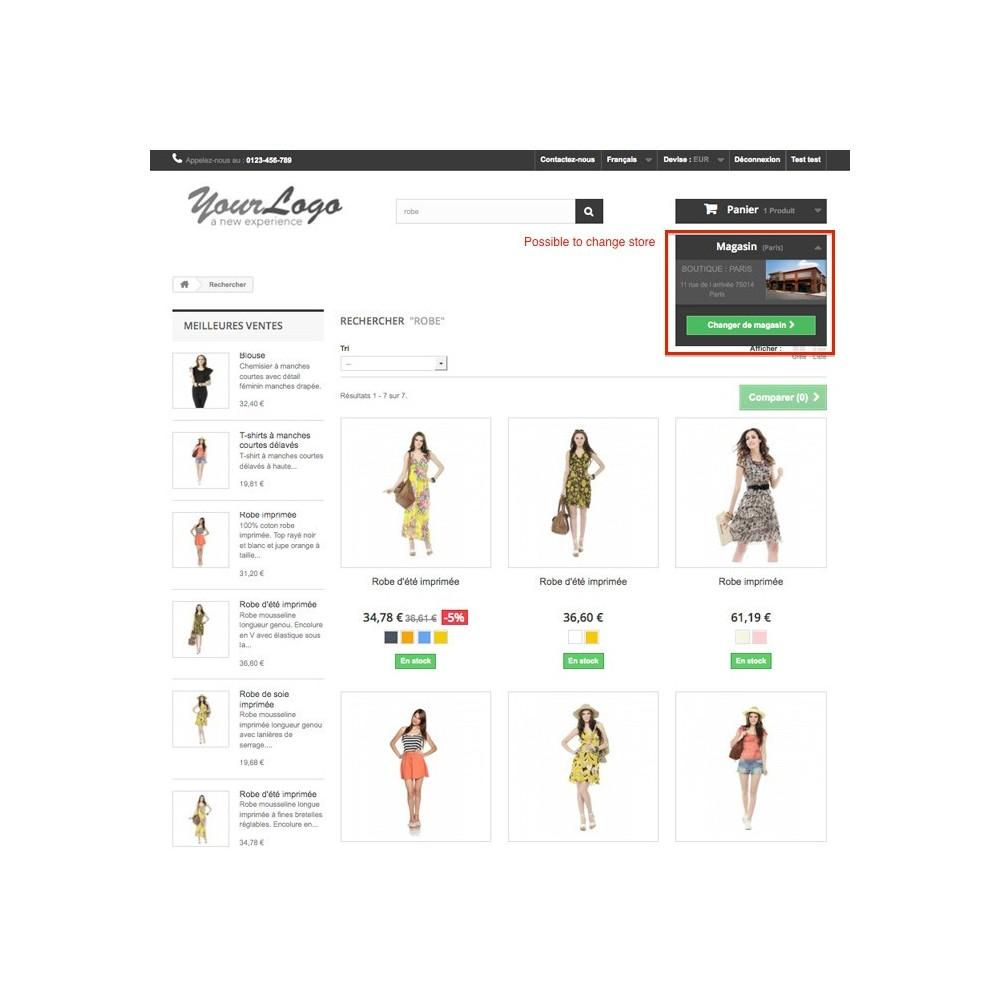 module - International & Localisation - Sélecteur de boutique / Drive - 3