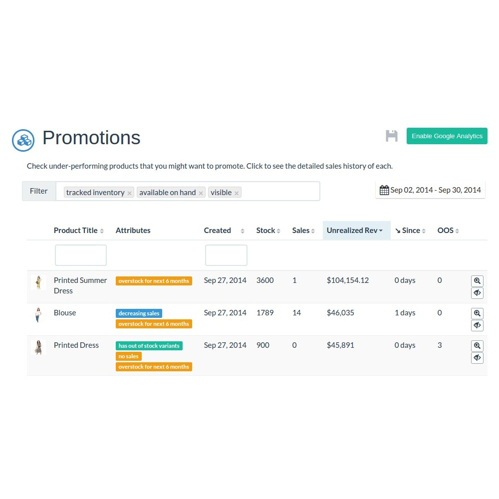 module - Gestion des Stocks & des Fournisseurs - Inventory Planner - 3