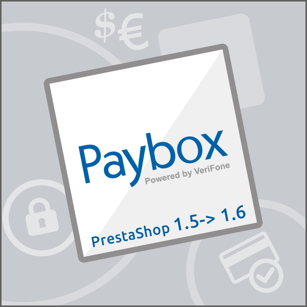 module - Payment by Card or Wallet - Paybox (1.5, 1.6 & 1.7) - 1