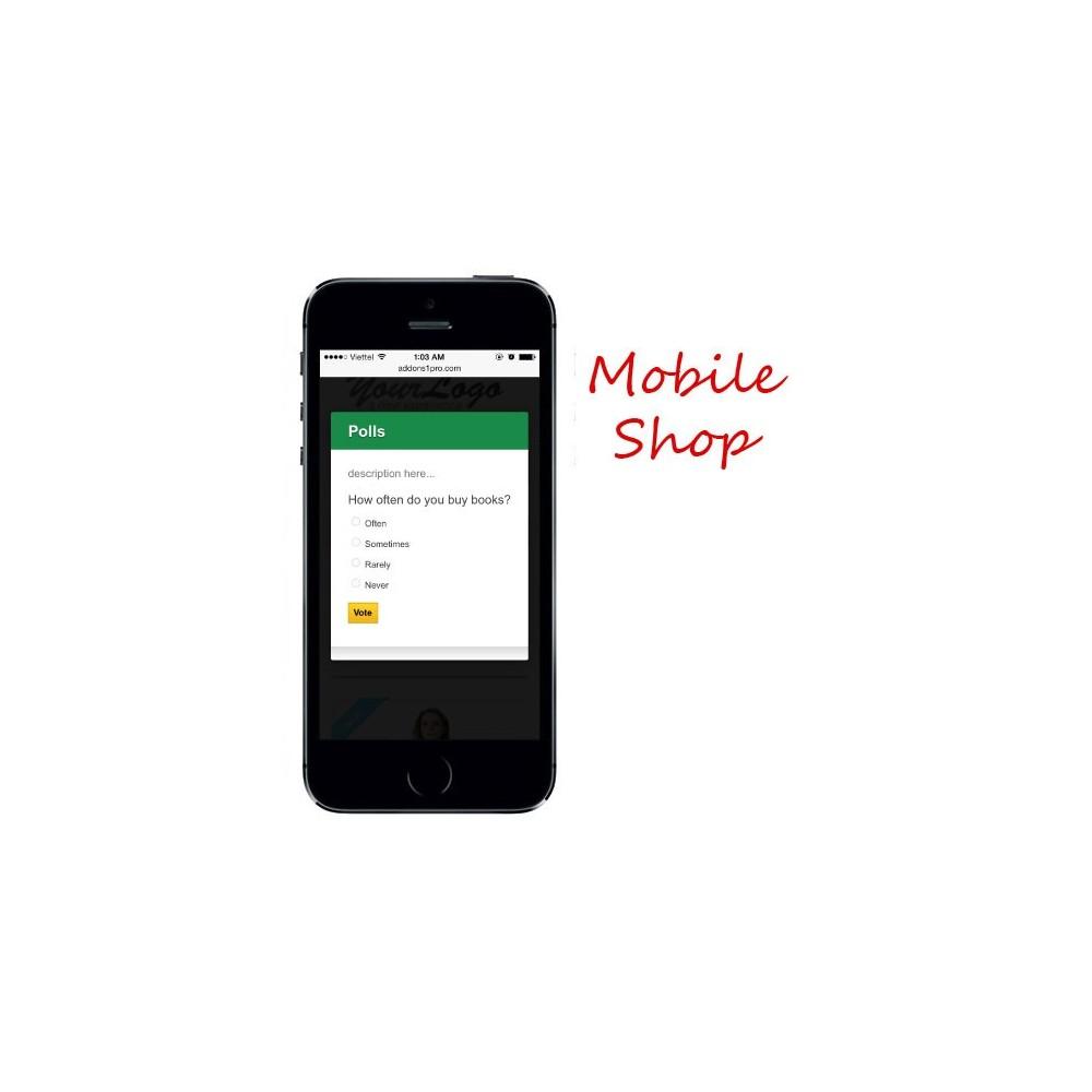 module - Form di contatto & Questionari - Prestashop Poll Pro [Popup] - 2