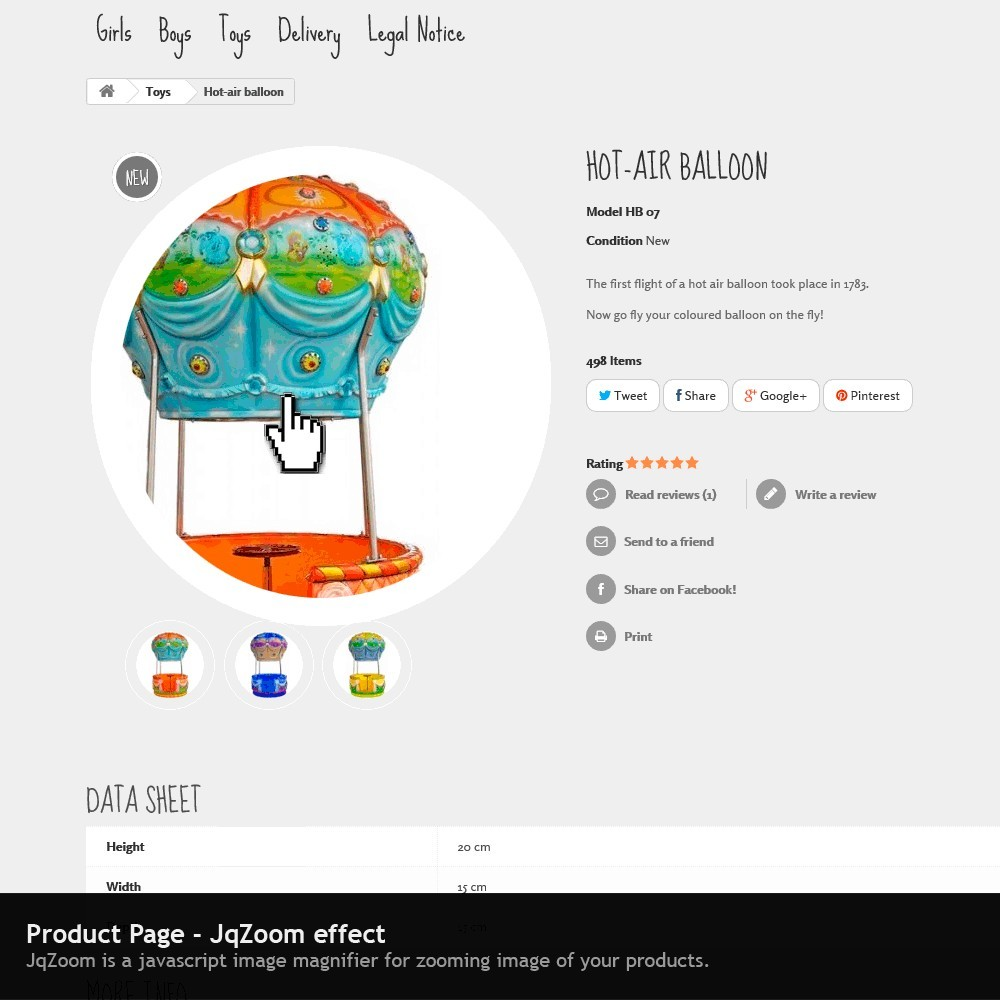 theme - Kids & Toys - Tender Responsive - 6