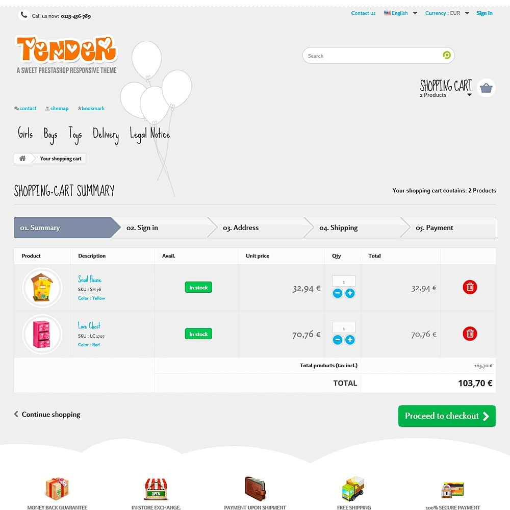 theme - Kids & Toys - Tender Responsive - 9
