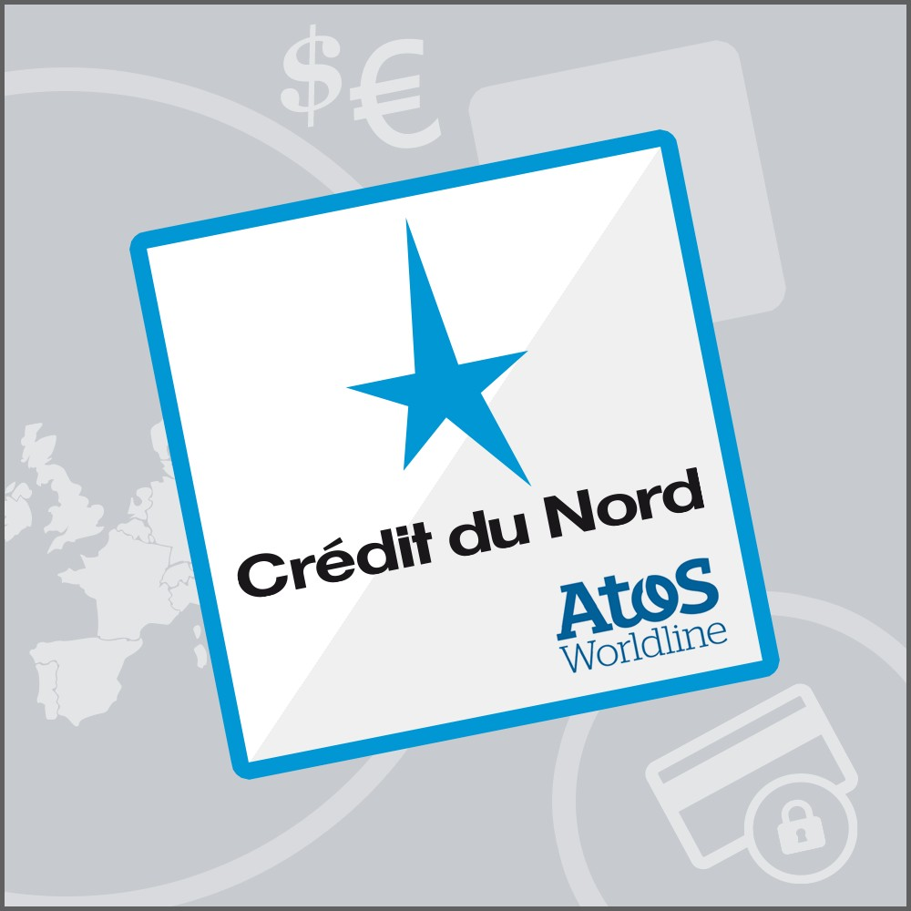 module - Payment by Card or Wallet - Crédit du Nord Atos Sips Worldline - 1