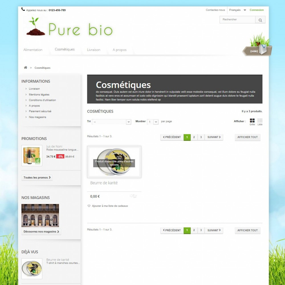 theme - Salute & Bellezza - Pure Bio - 3