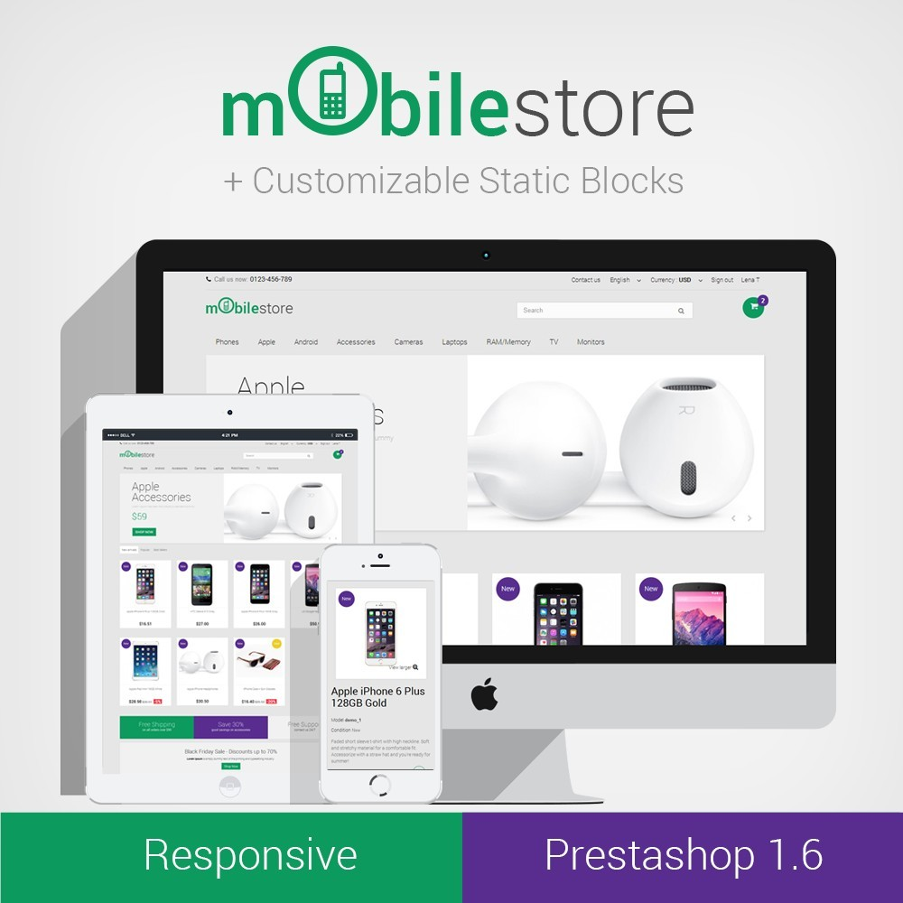 Digital Mobile Store Responsive