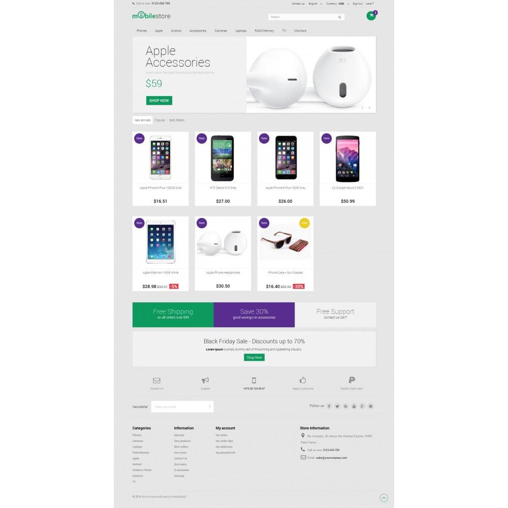 Digital Mobile Store Responsive