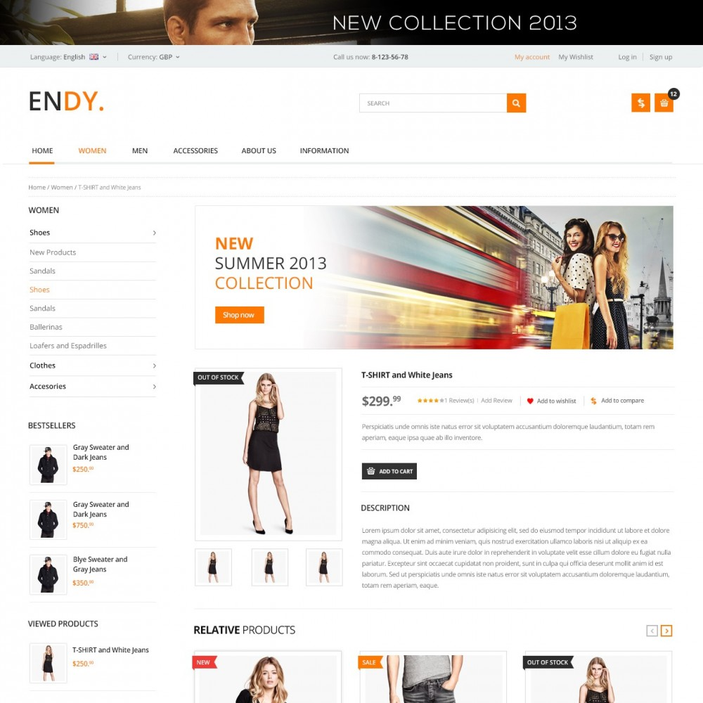 Endy - Shop of Design Clothes