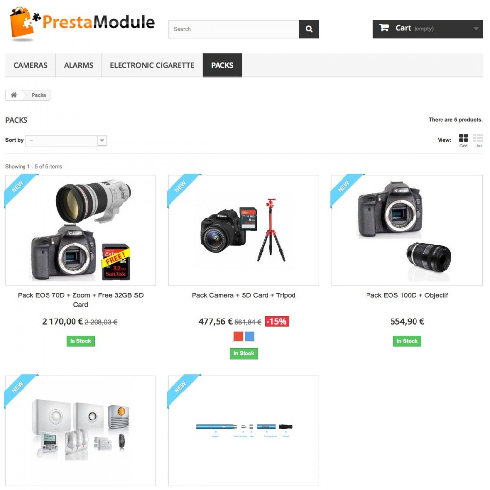 module - Cross-selling & Product Bundles - Advanced Pack 5 - Create ​​bundles of products - 2