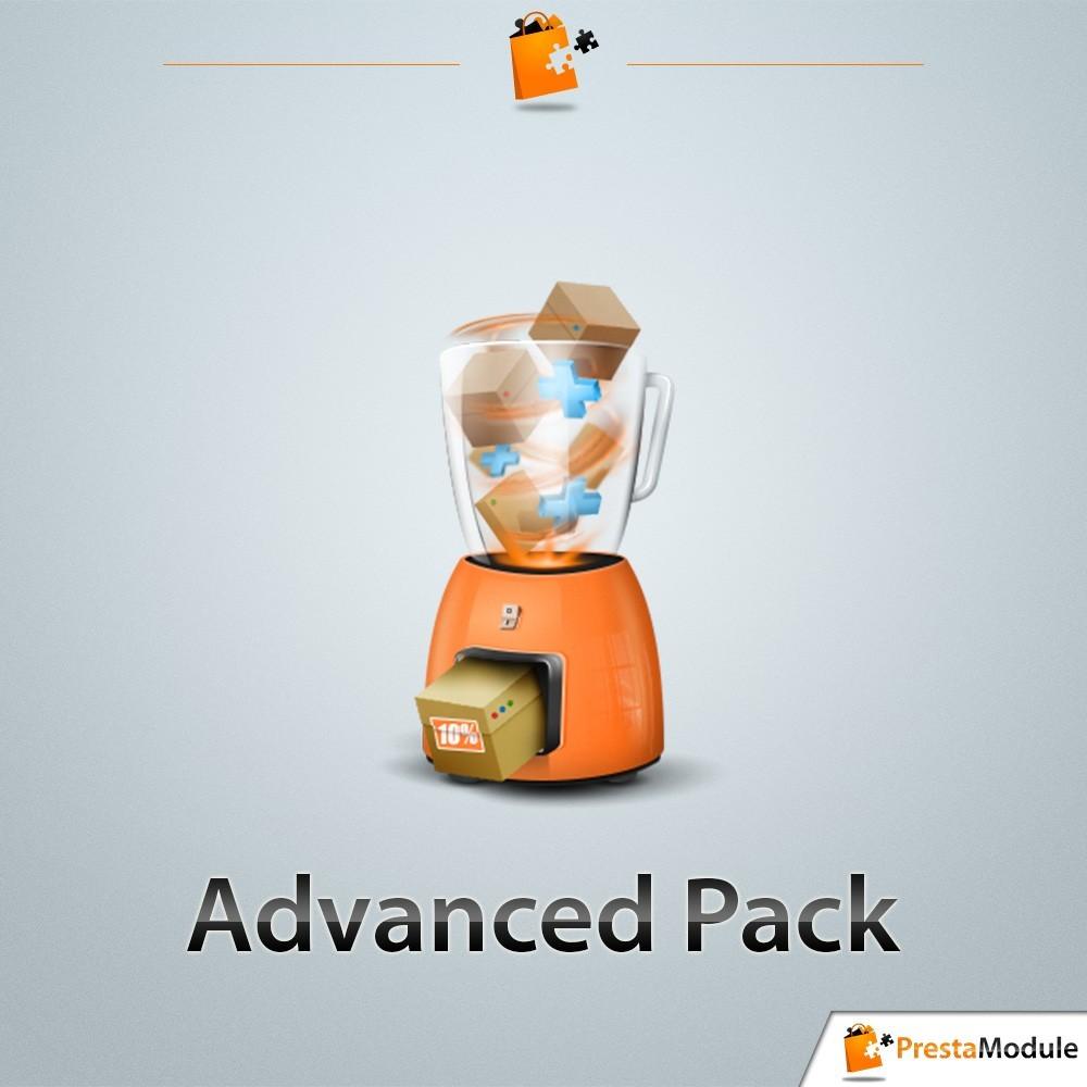 module - Ventes croisées & Packs de produits - Advanced Pack 5 - Vendez des lots de produits - 1