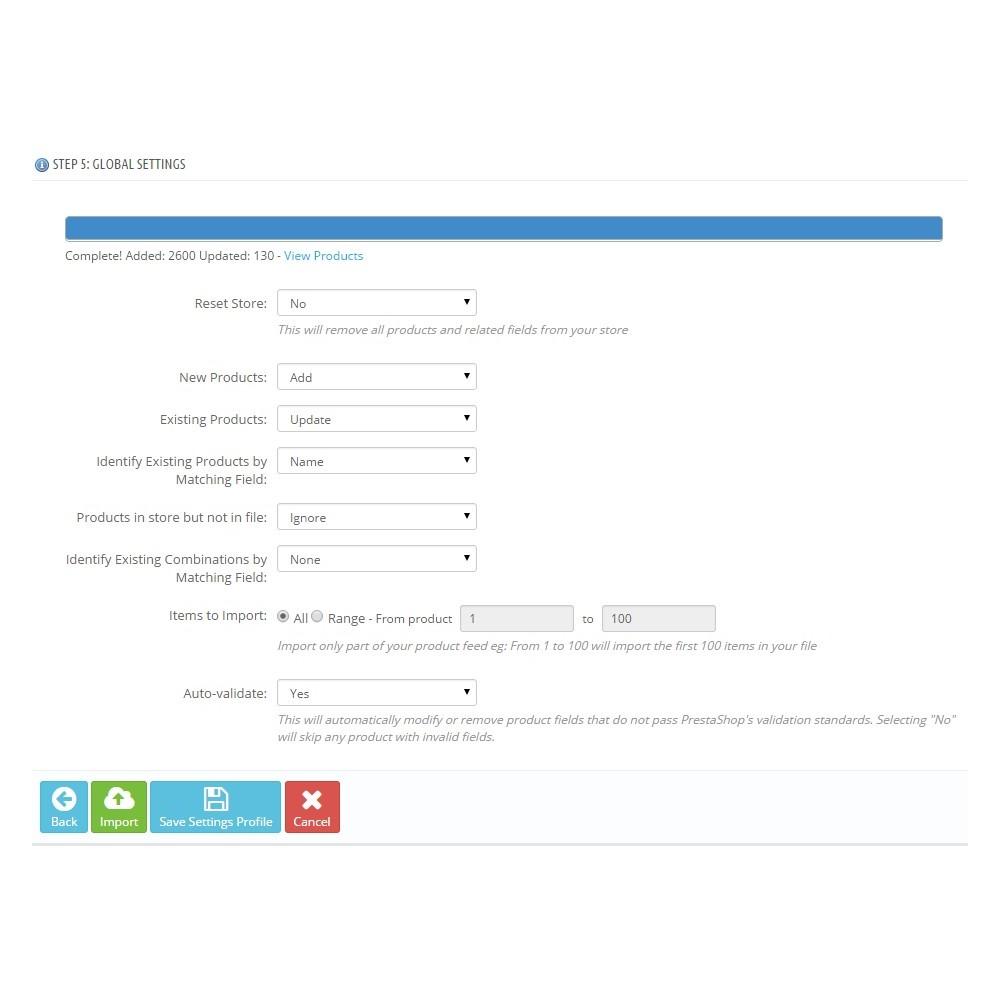 module - Importeren en Exporteren van data - Total Import PRO - 4