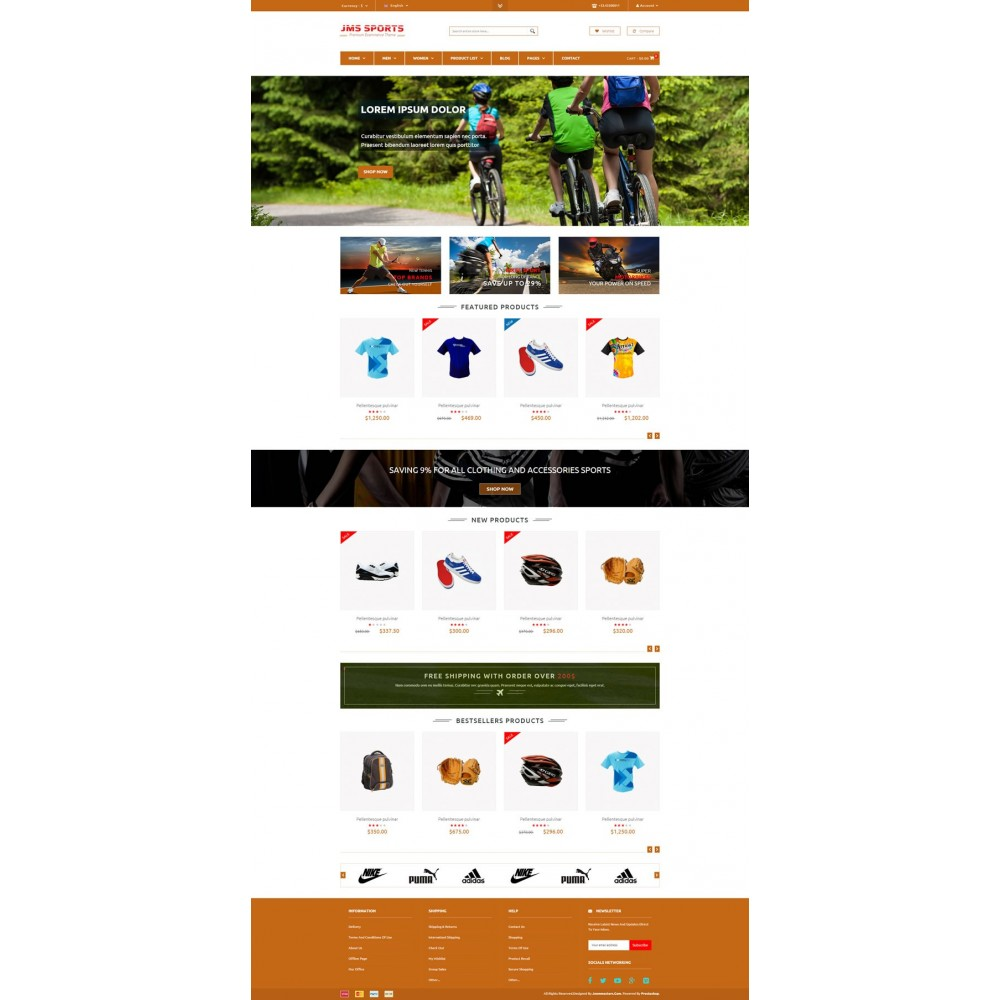 theme - Sports, Activities & Travel - JMS Sport - 6