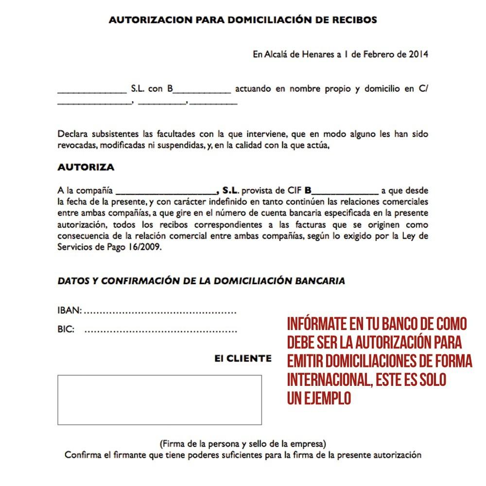 module - Pago por Transferencia - Pago por Domiciliación Bancaria Internacional (BIC) - 5