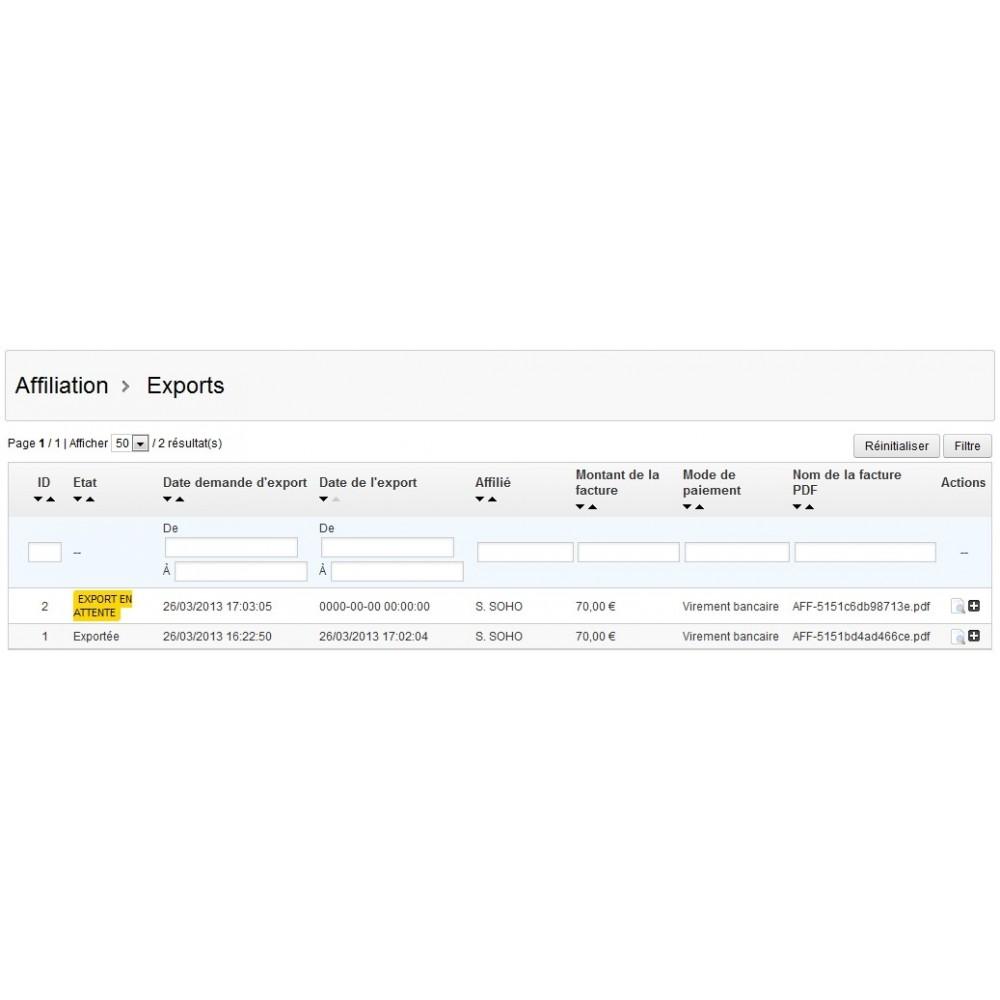 module - Fidélisation & Parrainage - Affiliation par bon de réduction - 10