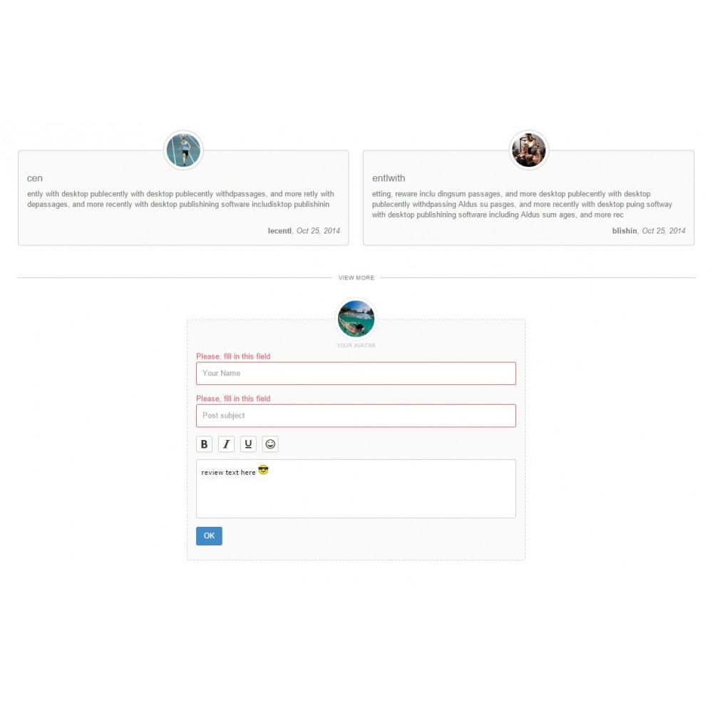 module - Opiniões de clientes - Testimonials with avatars - 10
